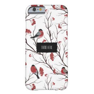 Vinterfåglar och bär barely there iPhone 6 skal
