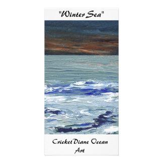 Vinterhav - CricketDiane havkonst Photocards Fotokort