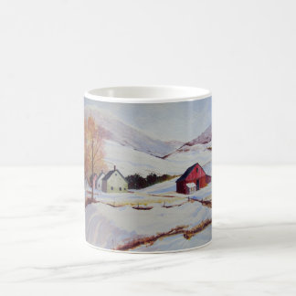 Vinterhus i Backemuggen Kaffemugg