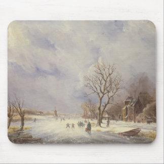 Vinterkanalplats, 19th århundrade musmatta