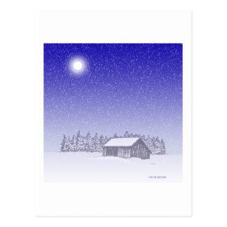 Vinterladugård Vykort