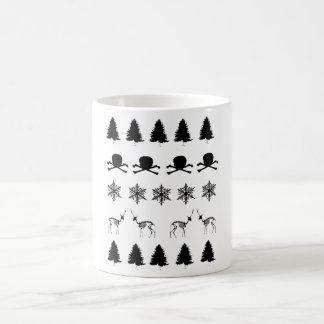 Vintermönster Kaffemugg