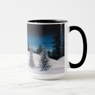 Vintern landskap 15 uns. Ringerkaffemugg Mugg