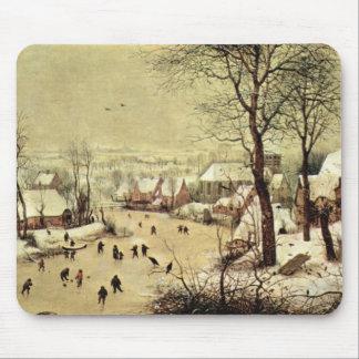 Vintern landskap med skater av Pieter Bruegel Musmatta