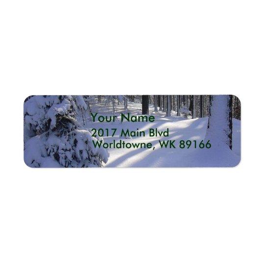 Vinterplats Returadress Etikett