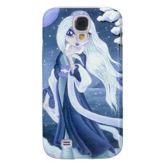 VinterPrincess i snö för IPhone 3 Galaxy S4 Fodral