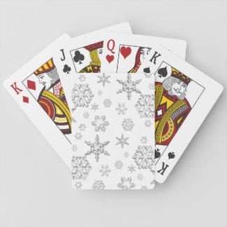 Vintersnö Spel Kort
