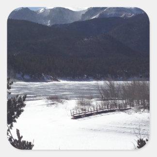 Vinterunderland, Pikes nå en höjdpunkt Fyrkantigt Klistermärke