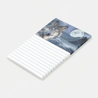 Vintervargfullmåne Post-it Lappar