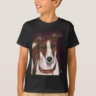 Vinthundhundkonst - royalty t shirt
