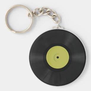 Vinyl Keychain Rund Nyckelring d905b7bc990c2