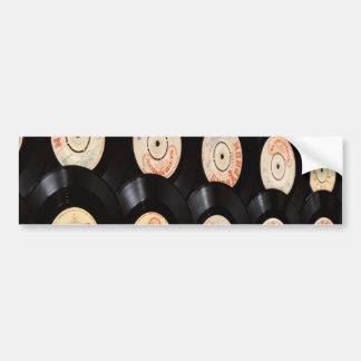 Vinylen antecknar bakgrund bildekal