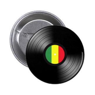 Vinylreggae Standard Knapp Rund 5.7 Cm