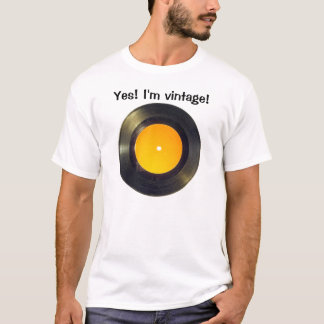 Vinylrekord Tee Shirt