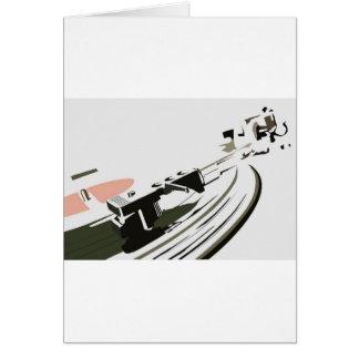 VinylTurntable Hälsningskort