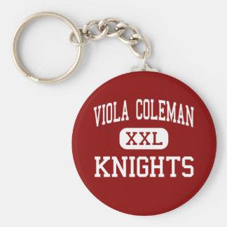 Viola Coleman - riddare - kick - Midland Texas Rund Nyckelring