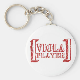 Violaspelare Rund Nyckelring