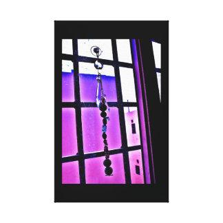 Violeten beskådar canvastryck