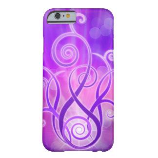 Violeten flammar/violeten avfyrar barely there iPhone 6 skal
