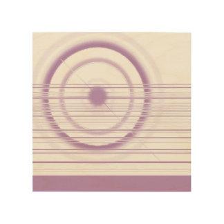 violeten rullar trätavla
