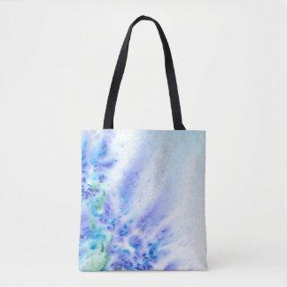 Violett fält för blått av den abstrakt tygkasse