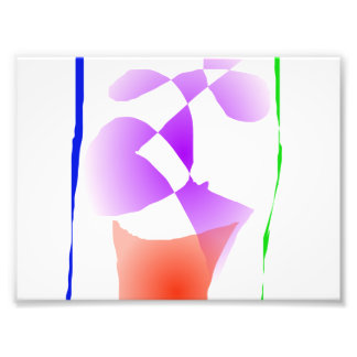 Violett Fototryck