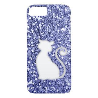 Violett glitterLookkatt