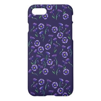 Violett lilablomma