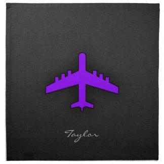 Violett lilaflygplan; Pilot- Tygservett