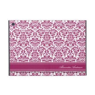 (Violett) mini- fodral för elegant damastast iPad, iPad Mini Hud