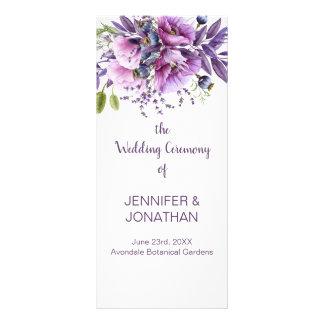 Violett purpurfärgad lavendel blommar