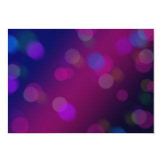 Violetta Bokeh 12,7 X 17,8 Cm Inbjudningskort