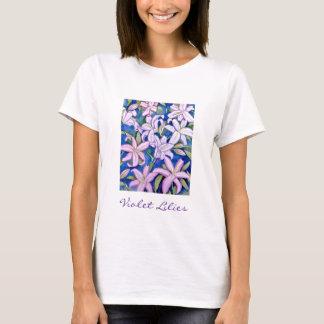 Violetta liljar t shirts