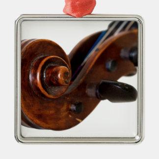 Violin Scroll Julgransprydnad Metall