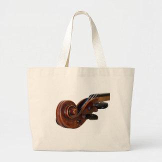 Violin Scroll Jumbo Tygkasse