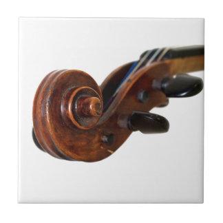 Violin Scroll Kakelplatta