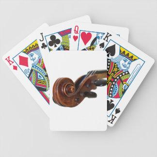 Violin Scroll Spelkort