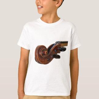 Violin Scroll Tee Shirts