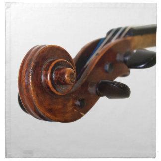 Violin Scroll Tygservett
