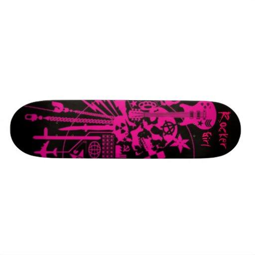 Vippaflicka Skateboard Bräda 20 Cm