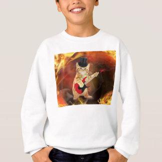vippakatten flammar in t-shirts