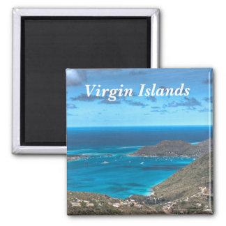Virgin Islands fjärdmagnet Magnet