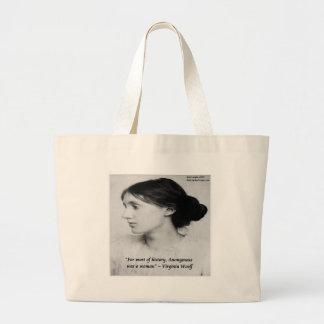 Virginia anonyma Woolf var ett Jumbo Tygkasse