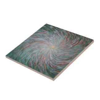 virvelväggmålning kakelplatta
