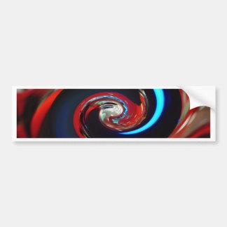Virvla runt färger, Wirbelnde Farben Bildekal