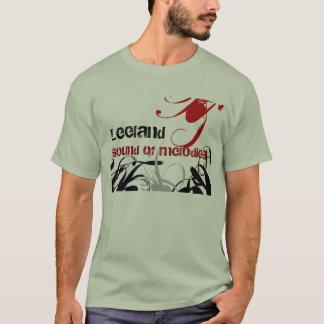 virvlar runt Leeland, ljud av melodier T-shirts