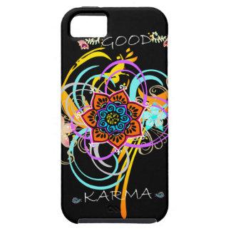 """Virvlar runt Mandalablomman """"för bra Karma"""" fodral iPhone 5 Case-Mate Cases"""