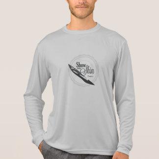 Visa att några flår - överilad vakt t-shirt