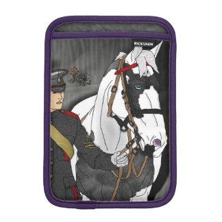 Visa din servicehäst och förlagehanterare sleeve för iPad mini