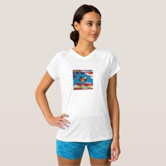 VISA GUD KÄRLEKkvinna denNacke T-tröja Tshirts